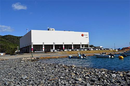 女川町水産冷蔵施設